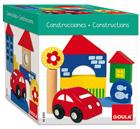 Caja de bloques de construcción de madera (26 piezas)