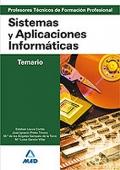 Sistemas y Aplicaciones Informáticas. Temario. Cuerpo de Profesores Técnicos de Formación Profesional.