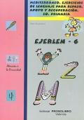 EJERLEN - 6. Mediterráneo. Ejercicios de lenguaje para repaso, apoyo y recuperación. 6º Educación Primaria.