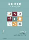 Lengua Evolución 5. Iniciación a la lectura y escritura. Sinfones en plabras y frases con: pl,bl,fl.