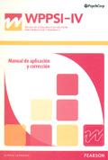 Manual de Aplicación y Corrección de WPPSI-IV,
