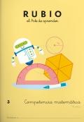 Rubio el arte de aprender. Competencia matemática 3. 8 años