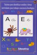 Tarjetas para identificar sonidos y letras. Actividades para trabajar la conciencia fonológica