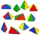Conexion 53 piezas geométricas. Pirámides..