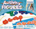 Estuche de figuras ensartables. Activity figures (40 piezas)
