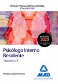 Manual para la preparación del Examen PIR (Psicólogo Interno Residente) Volumen 2