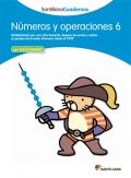 Números y operaciones 6. Santillana Cuadernos. 3º Primaria