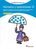 Números y operaciones 13. Santillana Cuadernos. 6º Primaria