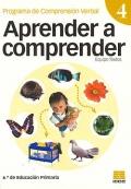 Aprender a comprender 4. Programa de comprensión verbal. (6 de primaria)