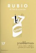 Rubio el arte de aprender. Problemas 17. Sumar, restar, multiplicar y dividir por varias cifras
