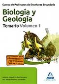 Biología y Geología. Temario. Volumen I. Geología.  Cuerpo de Profesores de Enseñanza Secundaria.