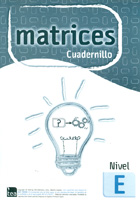 Cuadernillo Nivel E (unidad) de MATRICES. Test de Inteligencia General