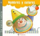 Nombres y colores. La ratita sabia 4 (palo y cursiva).
