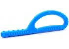 Mordedor Grabber largo Goshabunga extra duro con texturas (azul real)