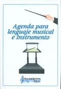 Agenda para lenguaje musical e instrumento