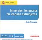 Inmersión temprana en lenguas extranjeras. Serie: principios. ( CD )
