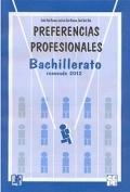 PPB. Cuaderno de aplicación de Preferencias Profesionales Bachillerato.