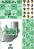 Matemáticas. Adaptación Curricular. Nivel III. ESO