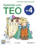 Aprende con Teo + 4. Para pintar, jugar y aprender