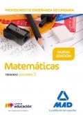 Matemáticas. Temario. Volumen 3. Cuerpo de Profesores de Enseñanza Secundaria.