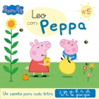 Leo con Peppa Nº5. Un cuento para cada letra: j, ge, gi, ll, ñ, ch, x, k, w, güe/güi