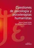 Cuestiones de psicología y psicoterapias humanistas.