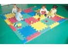 Suelo puzle de EVA 120 x 120 x 2 cm.