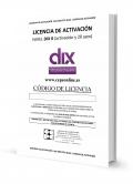 DIX 0. Licencia activación on line y 20 usos de corrección