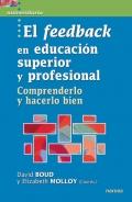 El feedback en educación superior y profesional. Comprenderlo y hacerlo bien