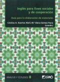 Inglés para fines sociales y de cooperación. Guía para la elaboración de materiales