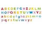 ABC Letras magnéticas distintos colores madera