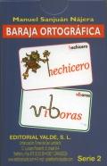 Baraja ortográfica. Serie 2.