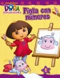 Pinta con números Dora la exploradora