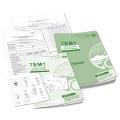Paquete de 25 Hojas de Registro de TEMT. Test de Evaluación Matemática Temprana.