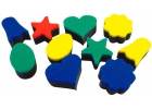 Esponjas de impresión de formas creativas (10 unidades)