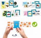 24 fichas auto-correctoras: asociaciones básicas