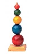 Esferas apilables de madera