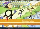 Letrilandia. Cuaderno de escritura 5. Pauta cuadrícula