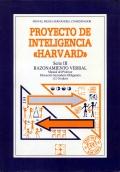 Proyecto de inteligencia Harvard. Serie III. Razonamiento verbal. Manual del profesor E.S.O (12-16 años)