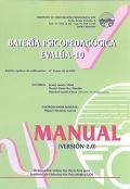 Manual de batería Psicopedagógica EVALÚA-10
