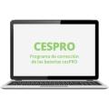Aplicación y corrección online de CESPRO (nivel 1 al 7)