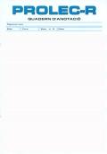 Paquet de 25 quaderns d'anotació de PROLEC-R, Bateria d'avaluació dels processos lectors, revisada.