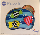 Puzzle encajables peces