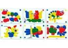 Láminas de modelos para mosaicos de pinchos de 20mm. Animales