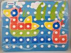 Láminas de modelos para mosaicos de pinchos superpegs (39 mm) Animales