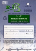 PAIB 3. Prueba de Aspectos Instrumentales Básicos en lenguaje y matemáticas. 5º y 6º curso de Educación Primaria e inicial de primer curso de ESO Cuaderno de trabajo.