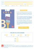 Paquete de 25 ejemplares B (12 a 17 años y adultos) de CREA, Inteligencia creativa.