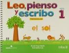 Leo, pienso y escribo: Preescolar 1
