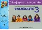 CALIGRAFIC 3. Caligrafía para aprender a escribir.