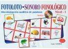 Fotoloto sonoro fonológico, nivel 1 (con CD)